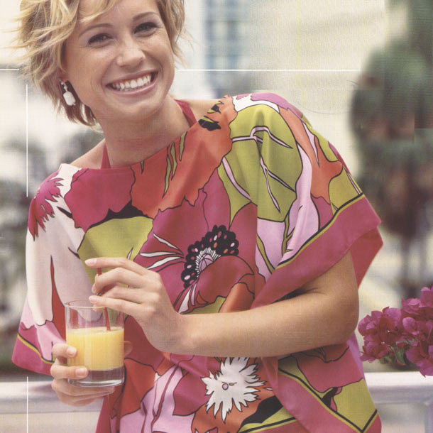 блузка шитье