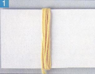 кисточки из ниток схемы изготовления