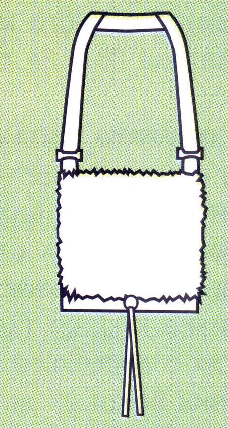 сумка своими руками из меха